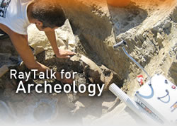 Raytalk for archeology