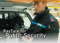 Raytalk for security